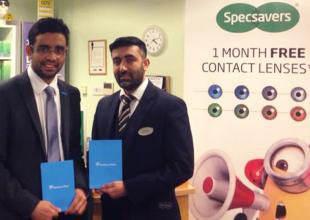 Specsavers West Bromwich and Orphans in Need announce partnership