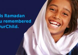 This Ramadan, you remembered #OurChild