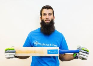 Moeen Ali joins Orphans in Need